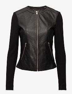 Jacket - skinnjackor - black