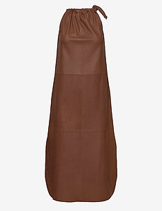 Long dress - cocktail dresses - 150 tobacco