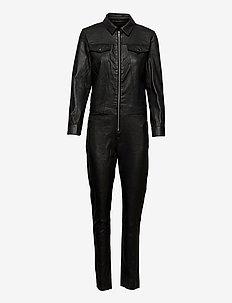Jumpsuit - nieuwe mode - 099 black (nero)