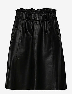 Skirt - midi kjolar - black