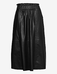Long skirt - midi rokken - black