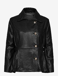 Jacket - skinnjakker - black