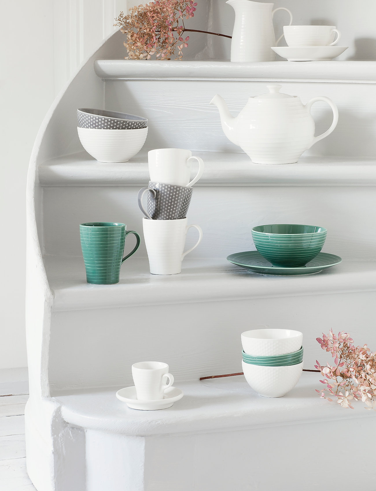 Design House Stockholm - Blond small bowl - aamiaiskulhot - grey/dot - 0