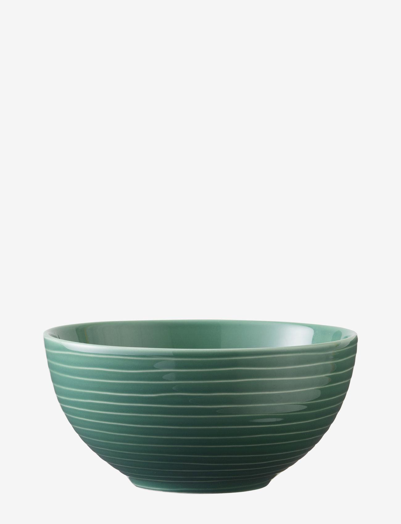 Design House Stockholm - Blond soup/cereal bowl - aamiaiskulhot - green/stripe - 0