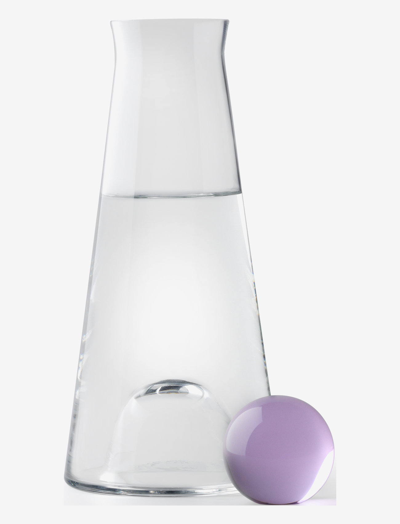 Design House Stockholm - Fia Carafe - 100–200€ - clear/amethyst - 0