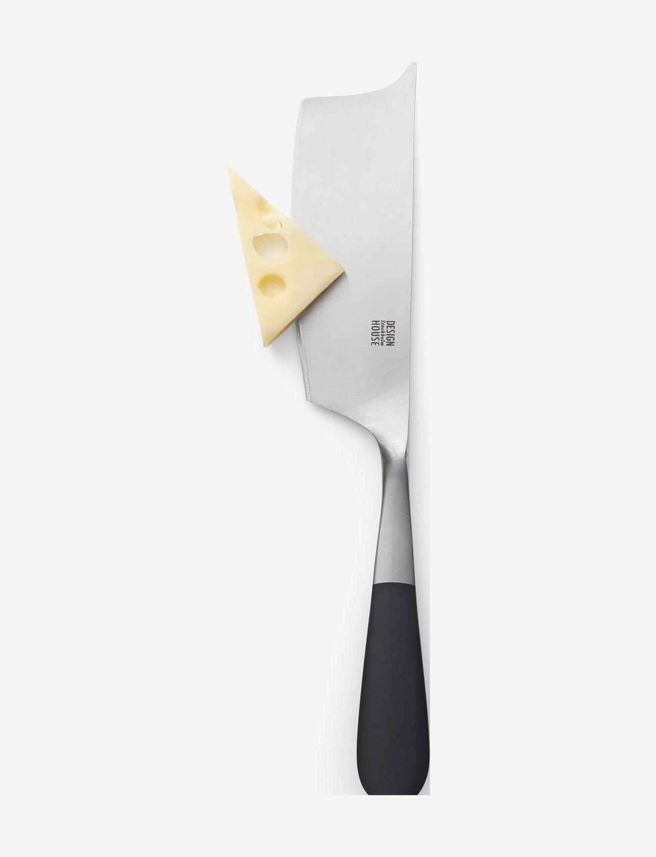 Design House Stockholm - Stockholm Cheese Knife - ostekniver - black/metal - 0