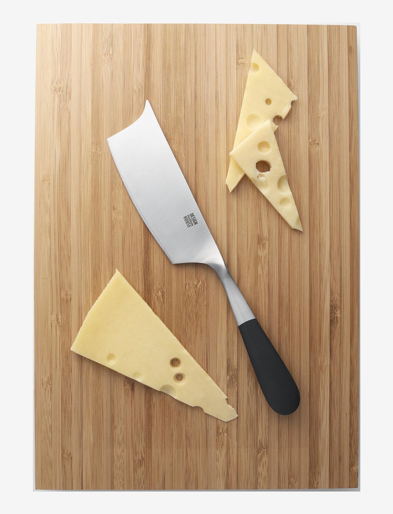 Design House Stockholm - Stockholm Cheese Knife - ostekniver - black/metal - 1
