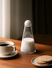Design House Stockholm - Fia Carafe Mini - vannkarafler - clear/amber - 3