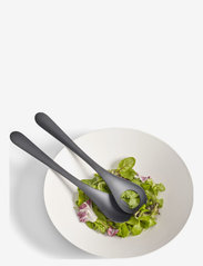 Design House Stockholm - Stockholm Sallads Servers 2-pack - salatbestikk - black - 1