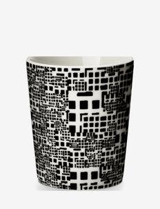 Downtown Mug - kaffekopper - white/black