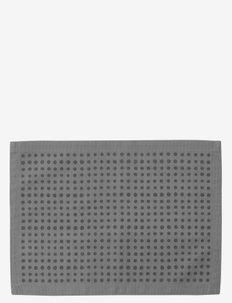 Placemat - bordbrikker, glassunderlag & bordskånere - grey/dot
