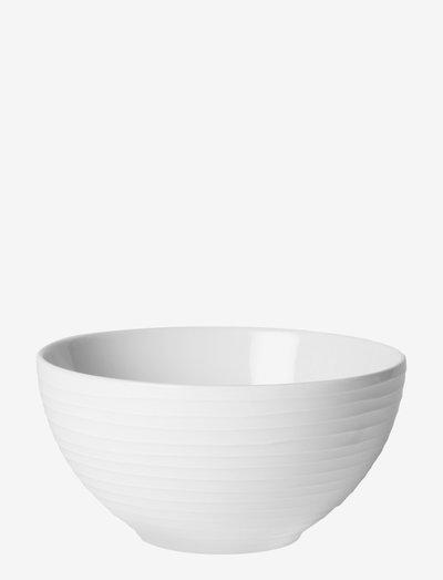 Blond soup/cereal bowl - serveringsskåler - white/stripe