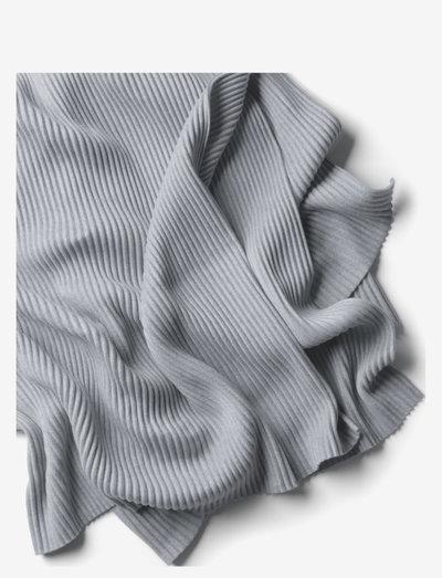 Pleece throw - huovat & viltit - light grey