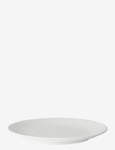 Blond Plate - ruokalautaset - white/stripe