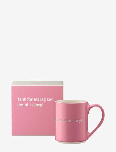 Astrid Lindgren mug - kahvikupit - pink