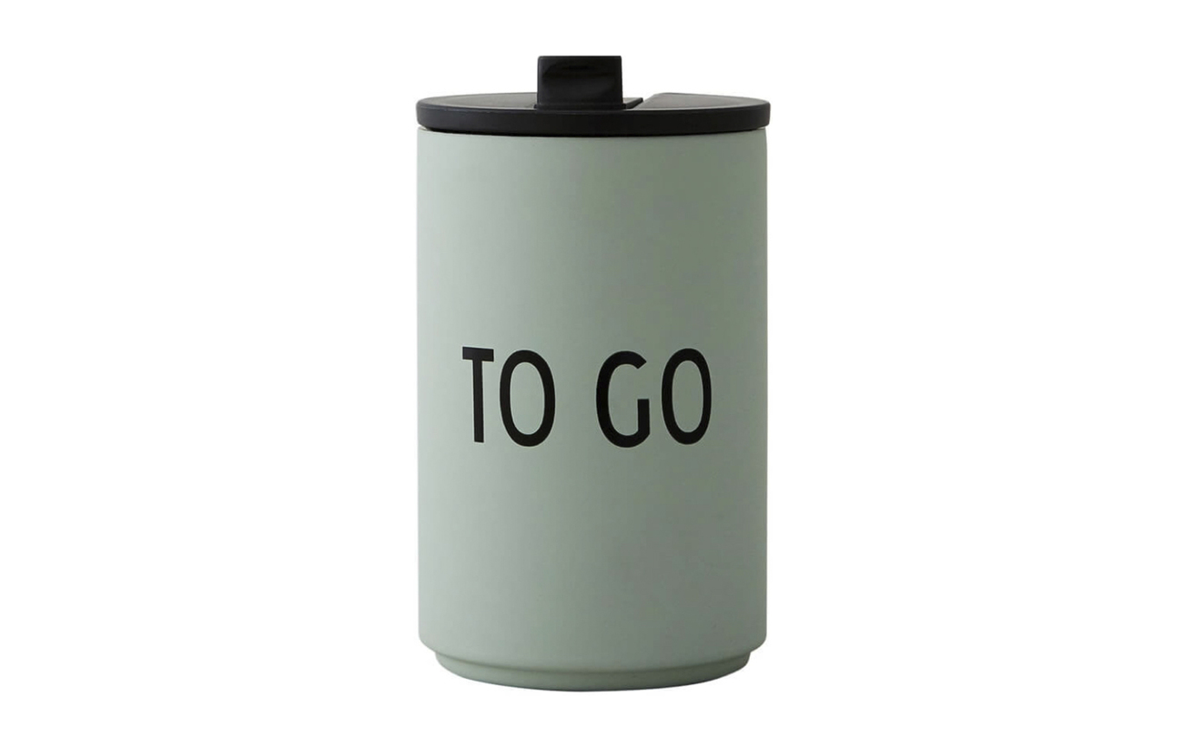 Design Letters THERMO/INSULATED CUP - GREEN
