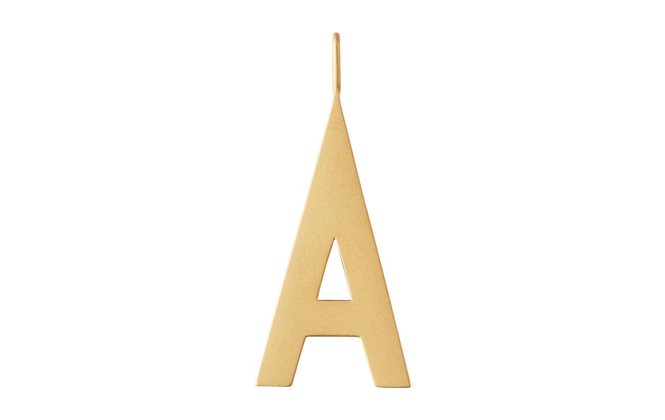 Design Letters ARCHETYPES 30 MM, guld, A Z Smycken