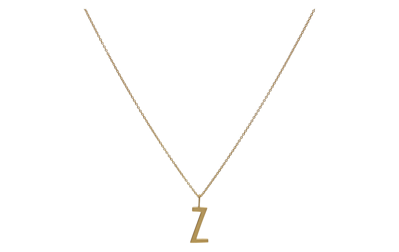 45cm Chain 18k Gold Plated Silver (Gold) (300 kr) - Design Letters ... 89440ee8e9f29