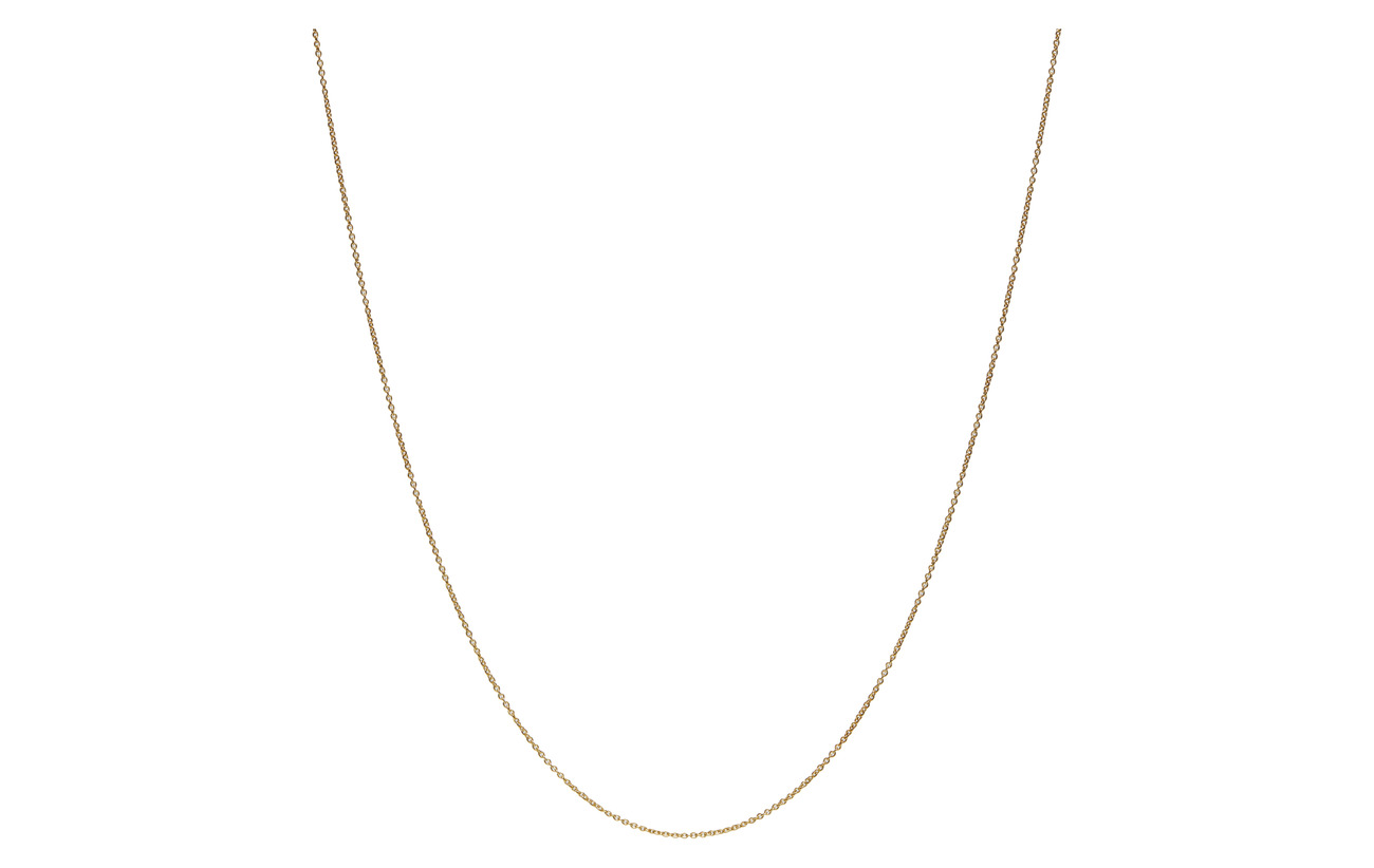 60 Cm Chain 18k Gold Plated Silver (Gold) (399 kr) - Design Letters ... d76aff67755a1