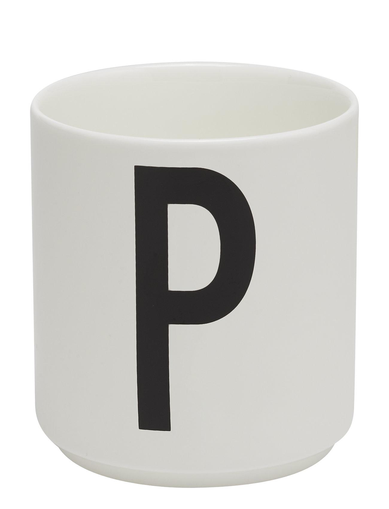 Porcelain Cup A-Z, æ, ø - Design Letters