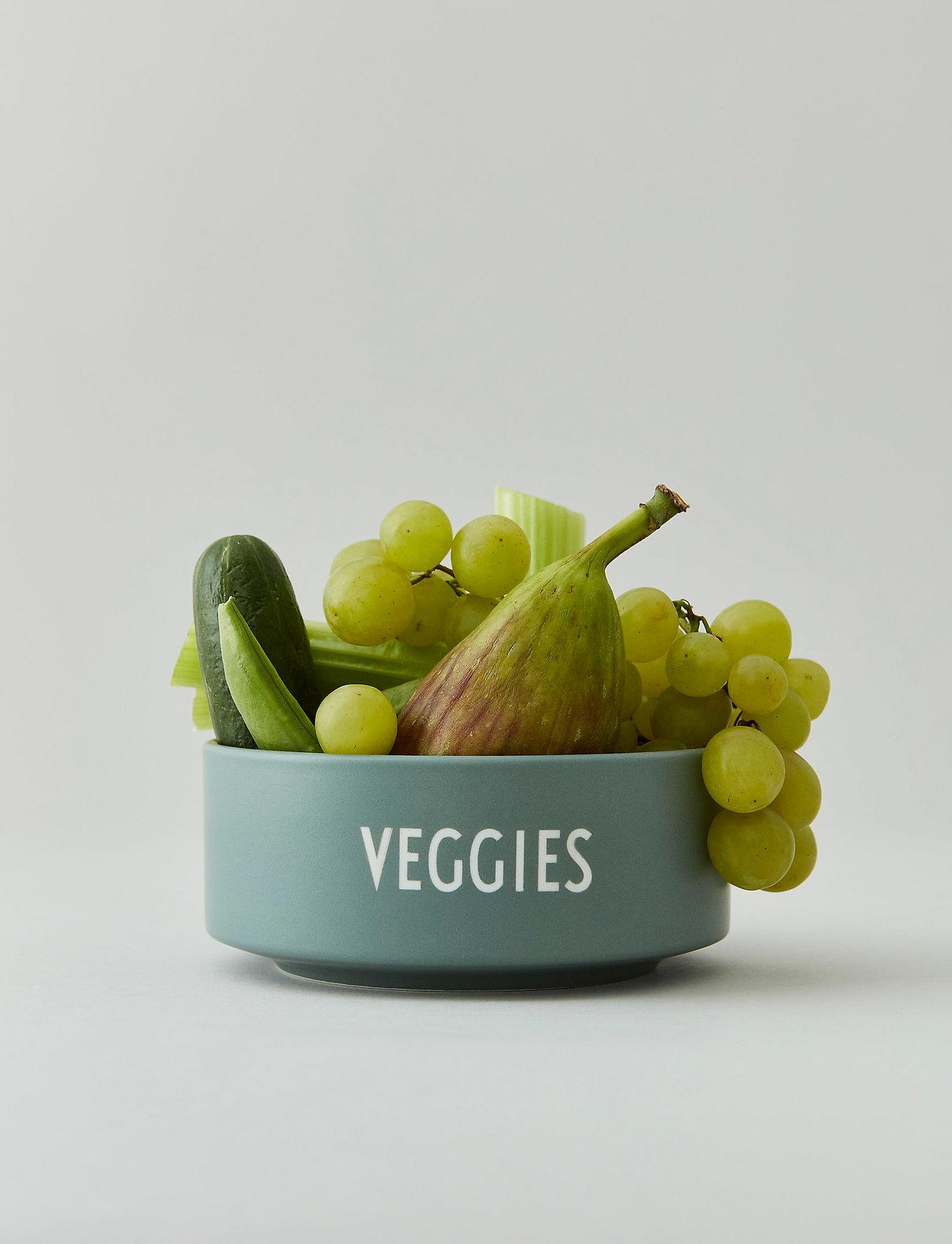 Design Letters - Snack bowl - saladiers de service - dusty green - 1