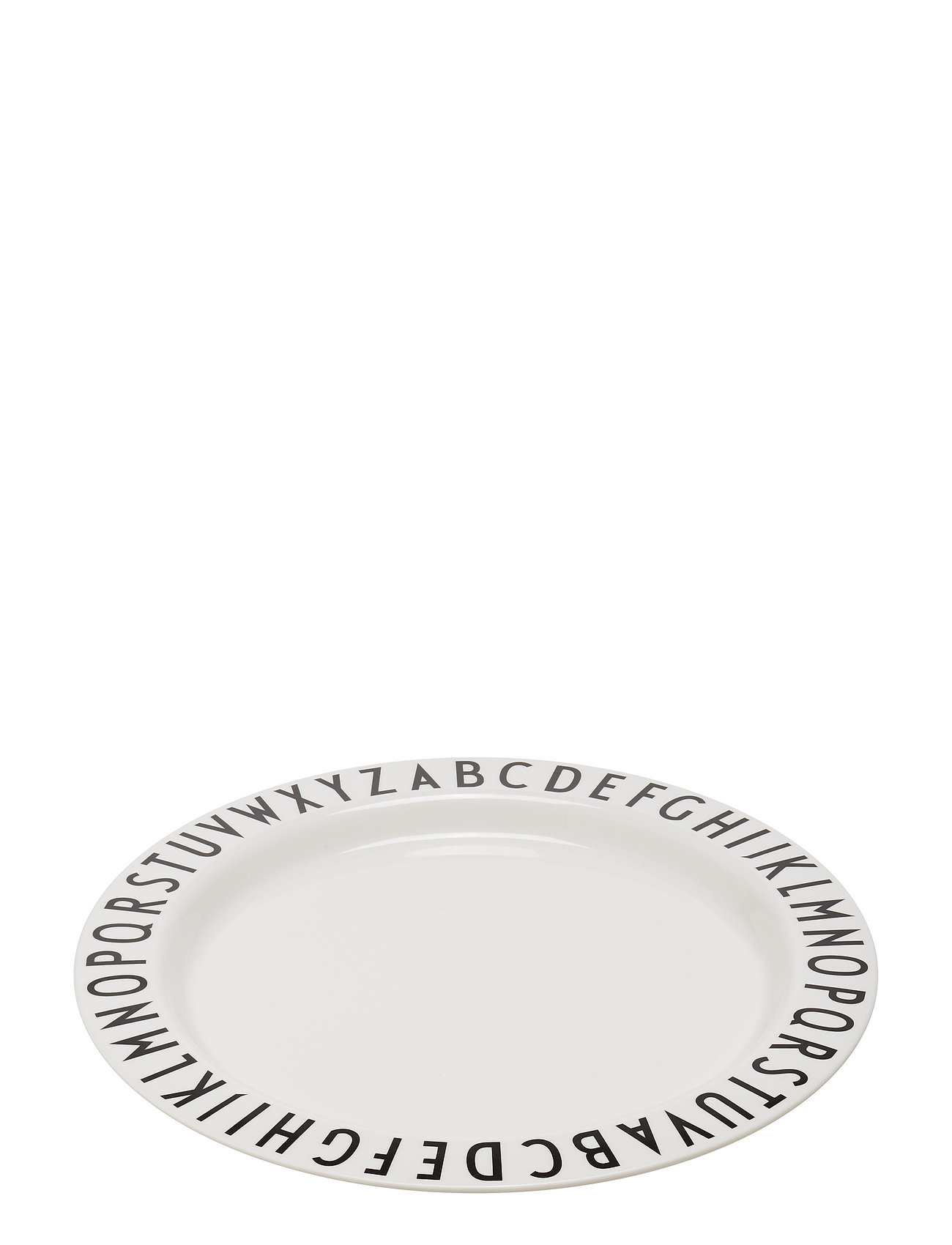 Design Letters Large plate melamine - LARGE
