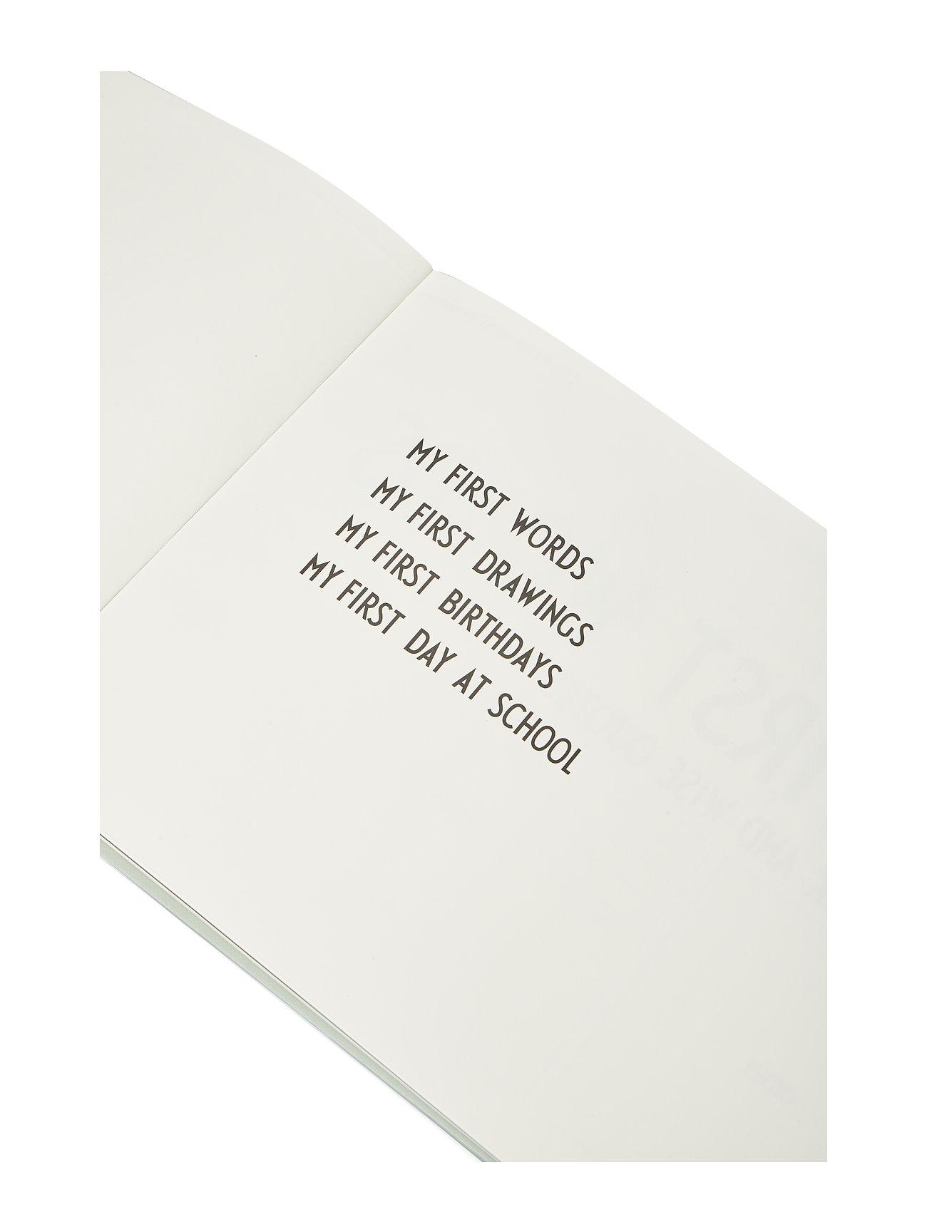 Design Letters - THE LITTLE MEMORY BOOK ABOUT LITTLE ME - wystrój domu - blue - 1