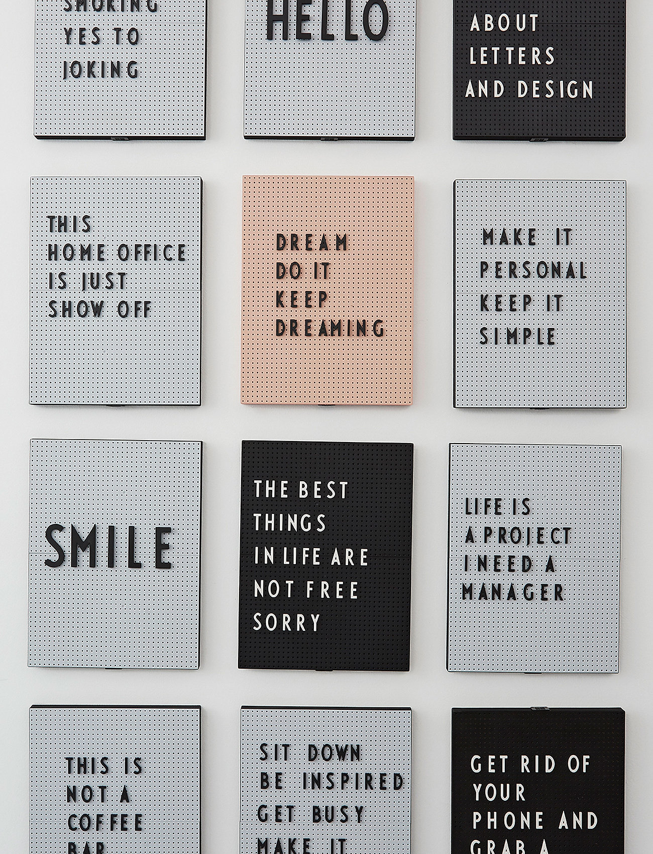 Design Letters - Message board a4 - décor - nude - 1