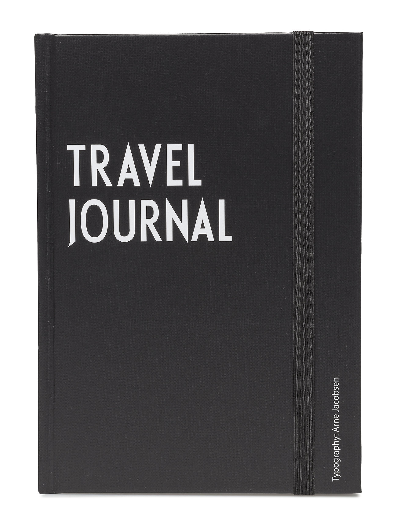 Design Letters Travel journal book - BLACK