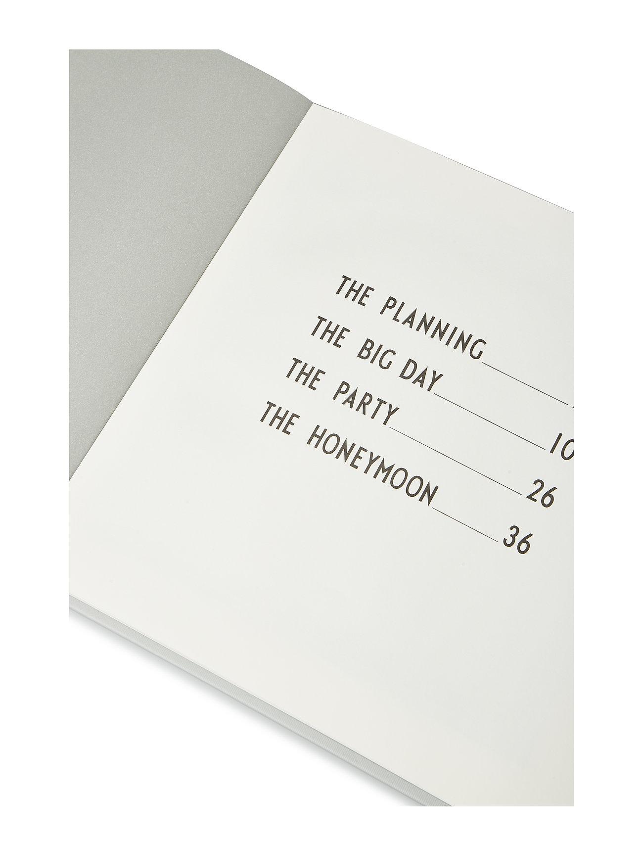 Design Letters - Wedding book - wystrój domu - grey - 1