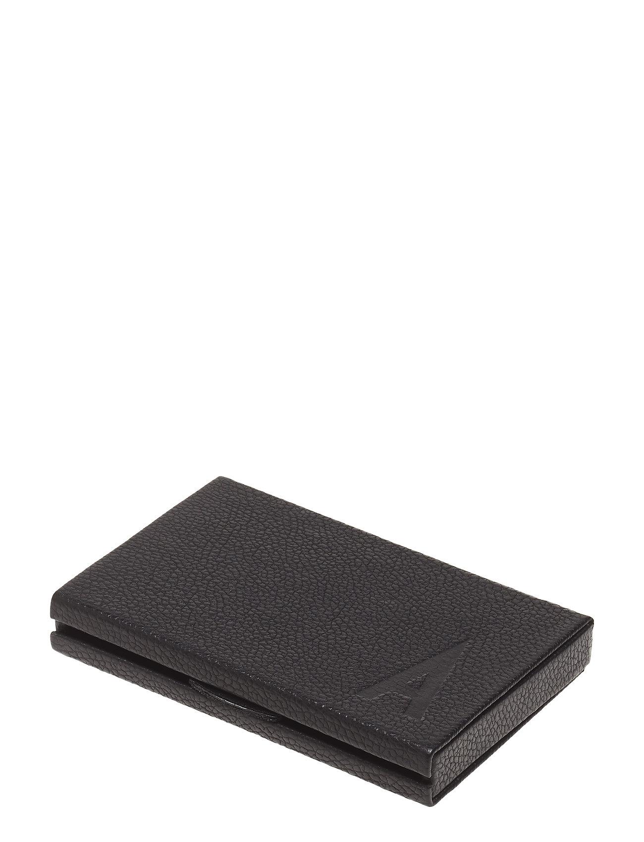 Design Letters Personal Card holder - BLACK