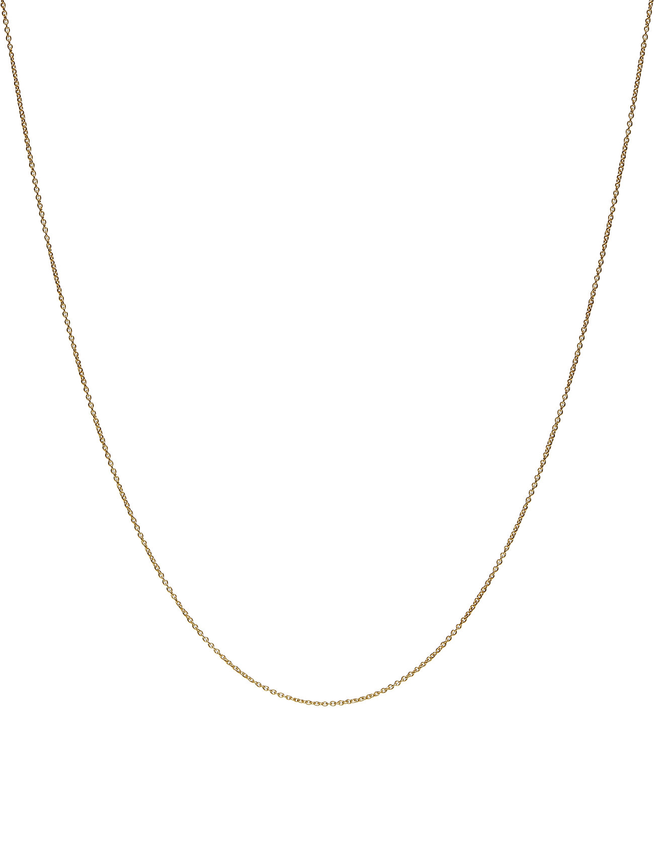 Design Letters 60 Cm Chain 18k Gold Plated Silver 478235810