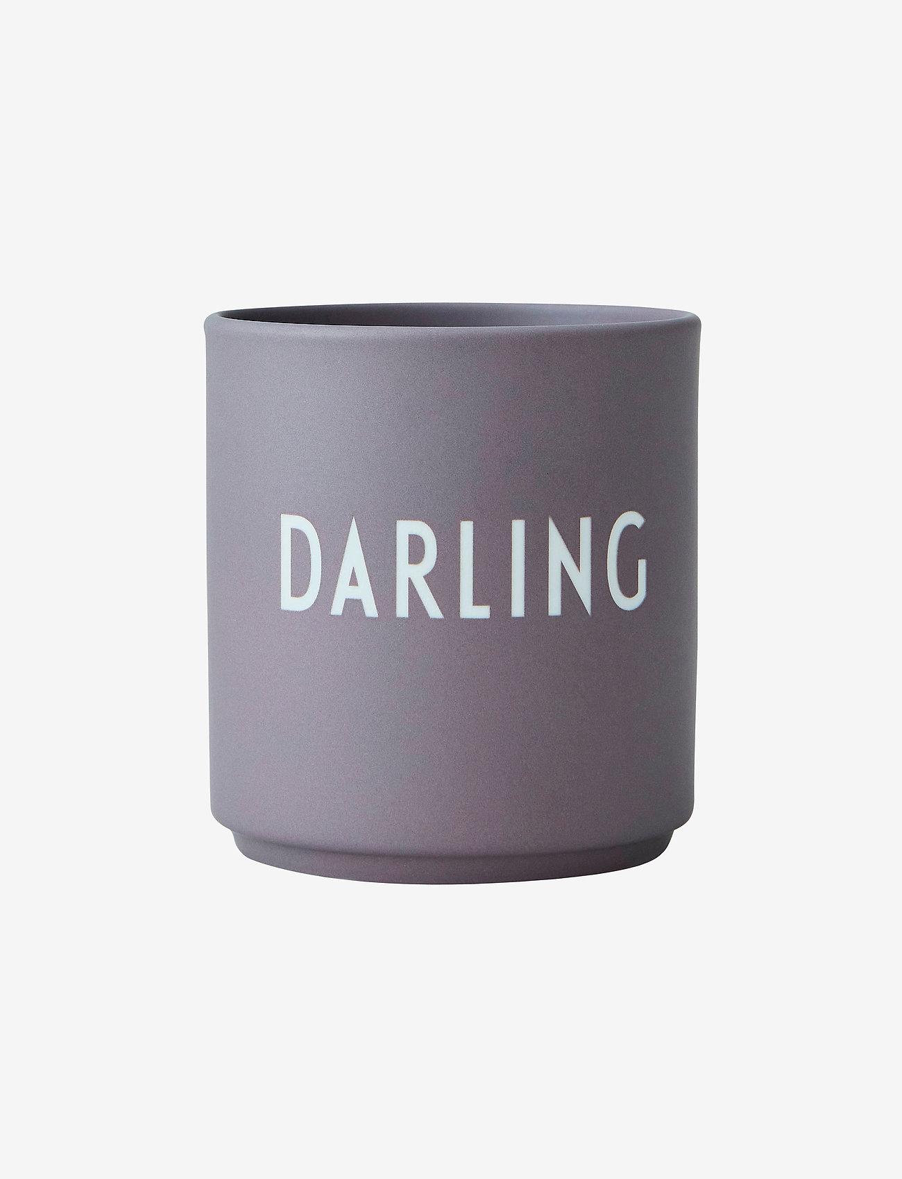 Design Letters - Favourite cup - décorations de noël - dusty purple - 0