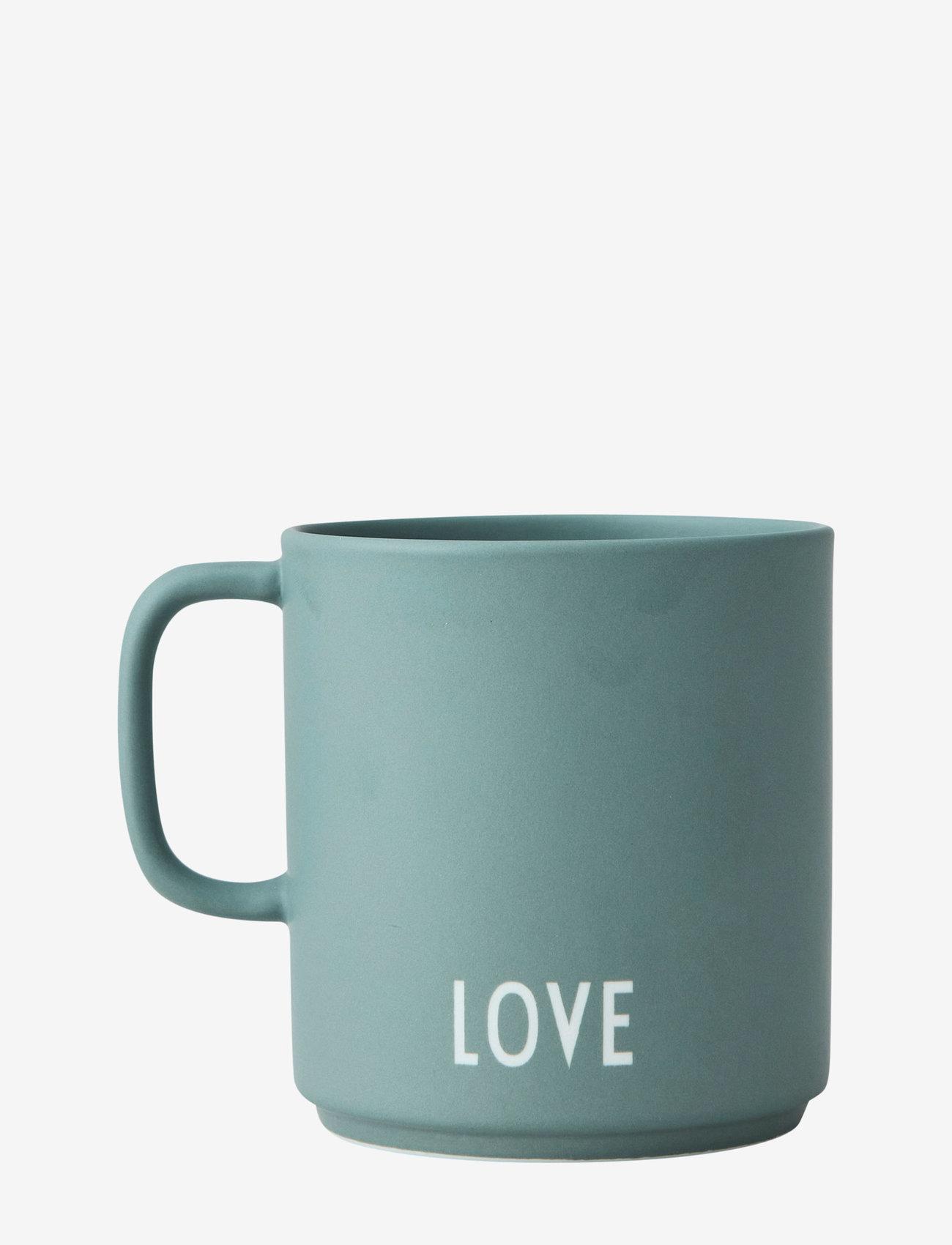 Design Letters - Favourite cup with handle - tasses à café - dusty green - 1