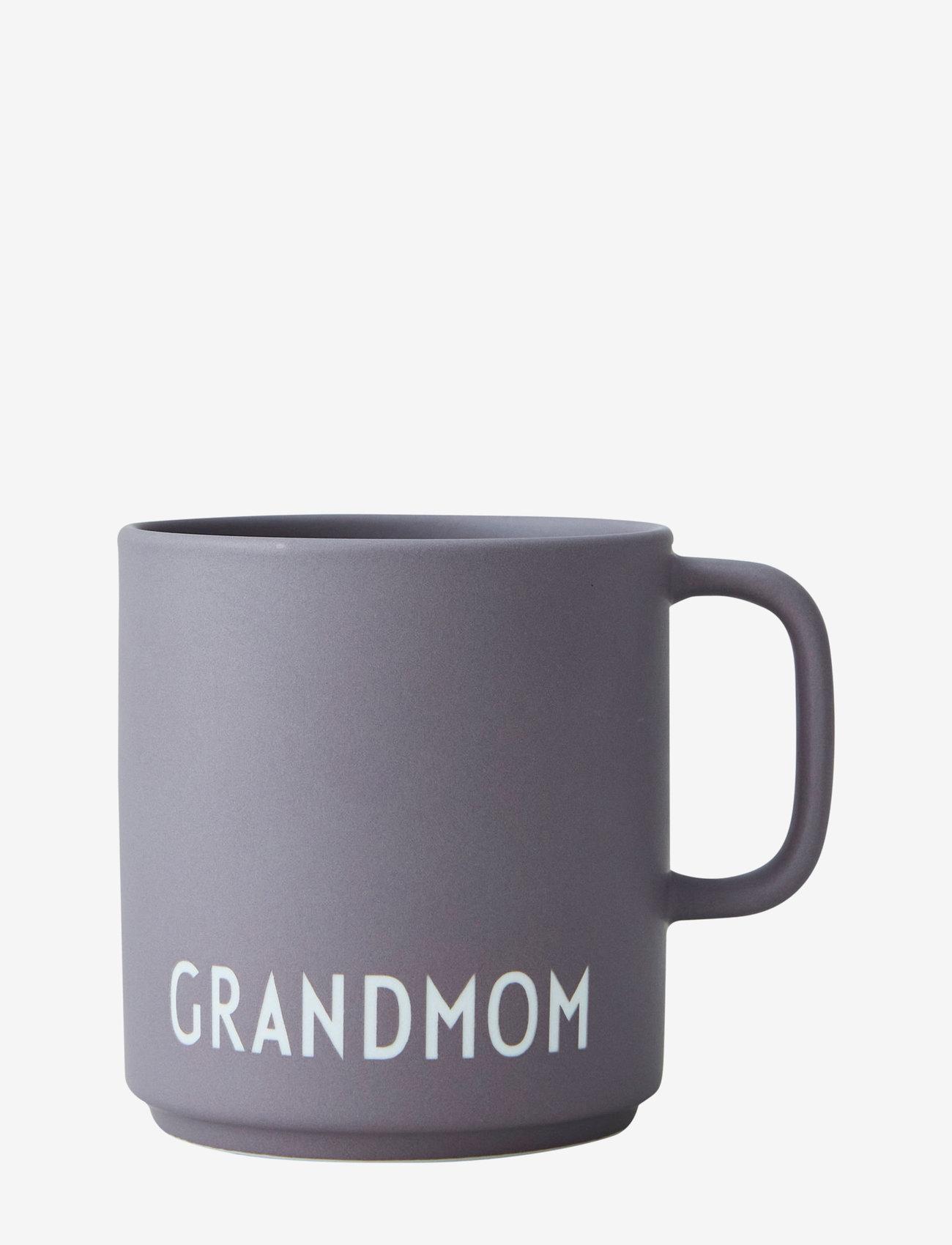 Design Letters - Favourite cup with handle - tasses à café - dusty purple - 0