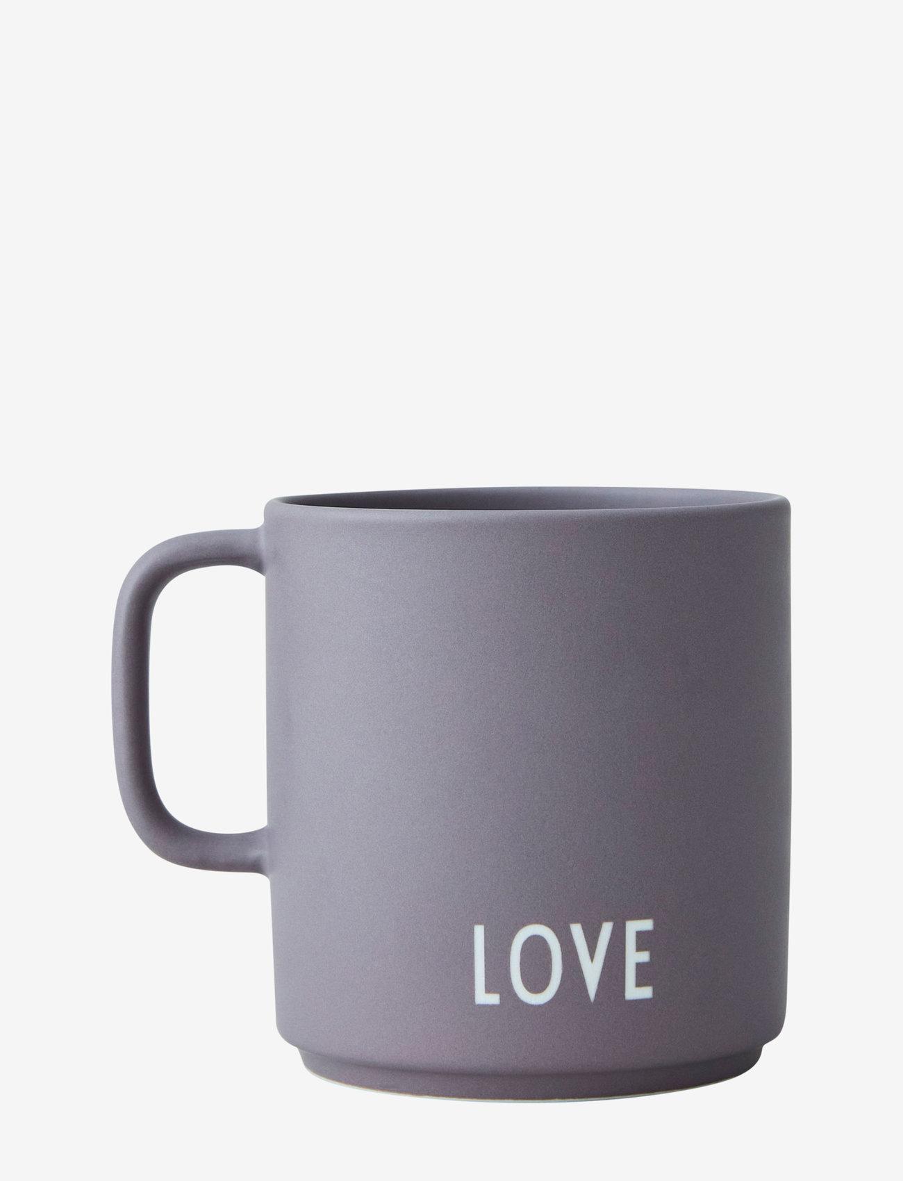 Design Letters - Favourite cup with handle - tasses à café - dusty purple - 1