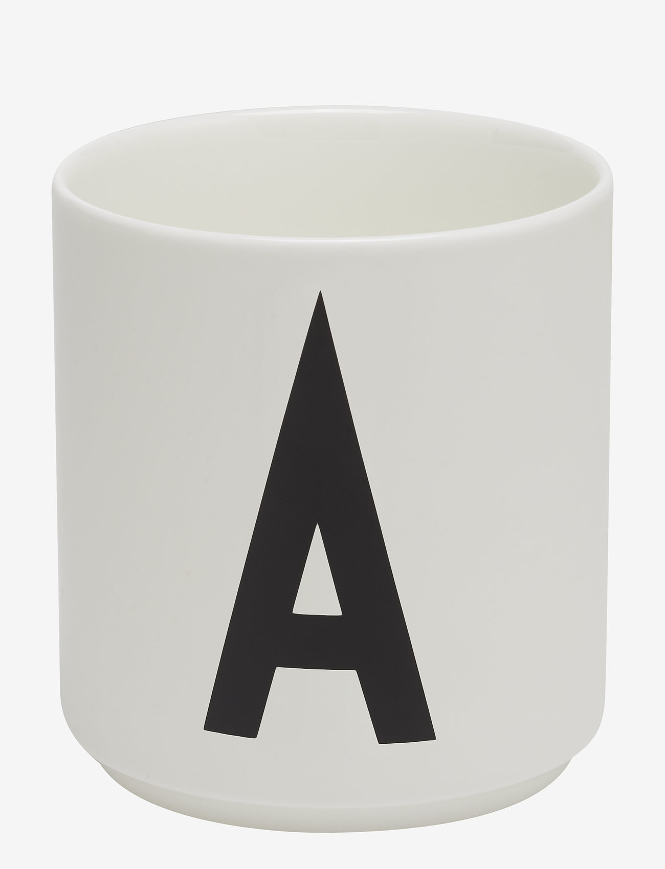 Design Letters - Porcelain cup a-z, æ, ø - tasses à café - white - 0