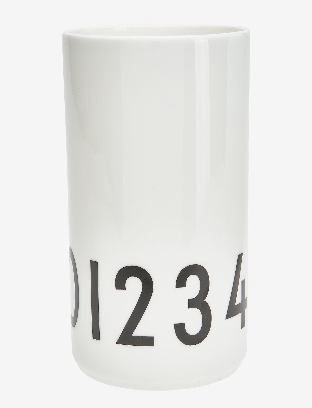 Design Letters - Small Vase - przechowywanie - white - 0