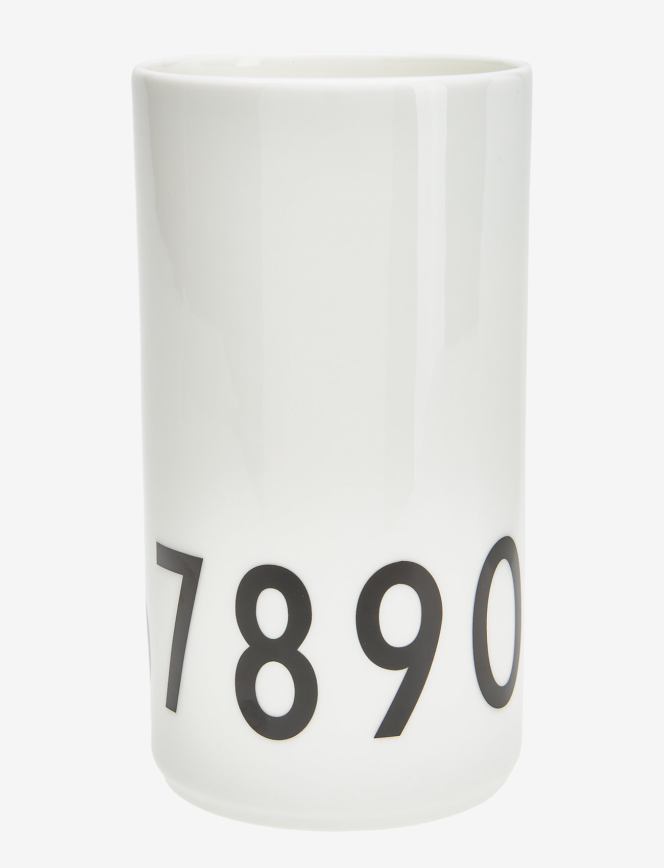 Design Letters - Small Vase - przechowywanie - white - 1