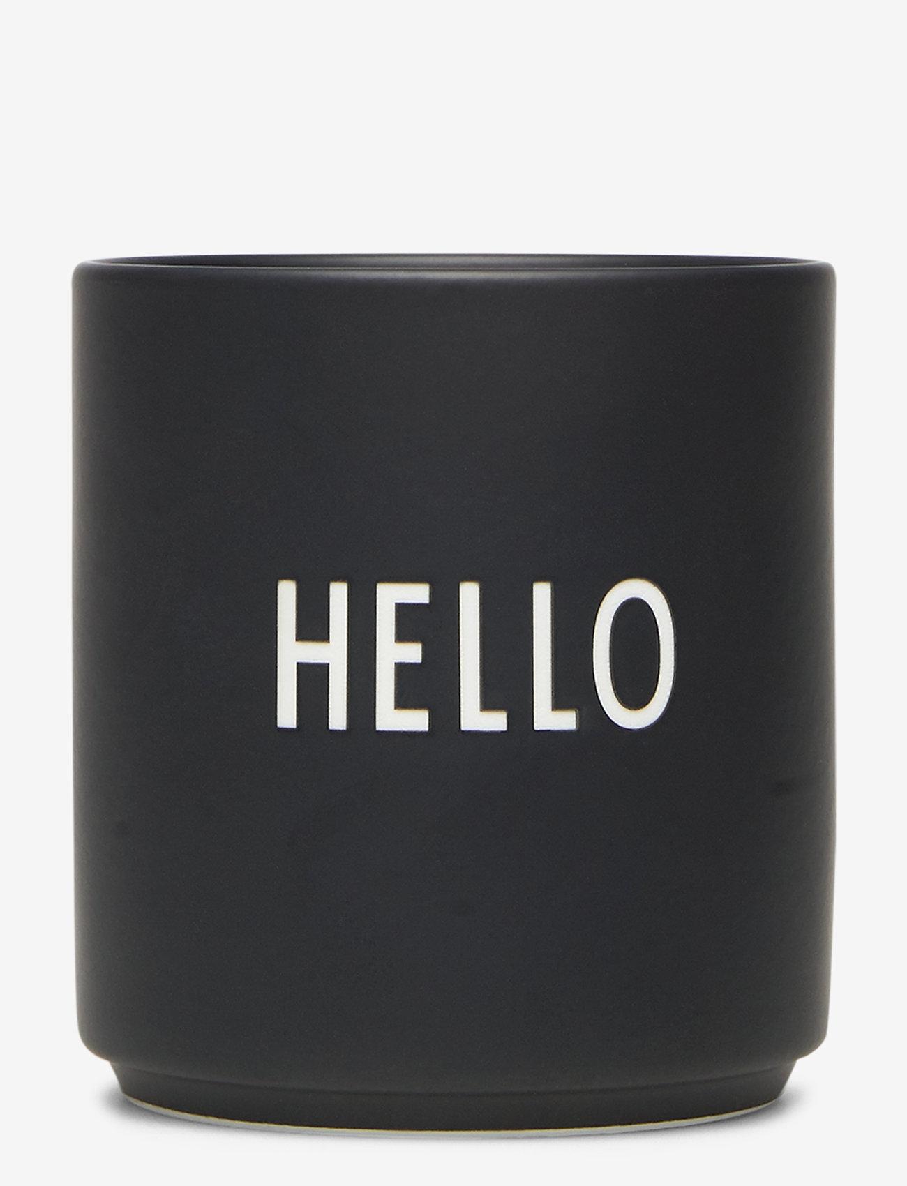 Design Letters - Favourite cups - tasses à café - hello - 0
