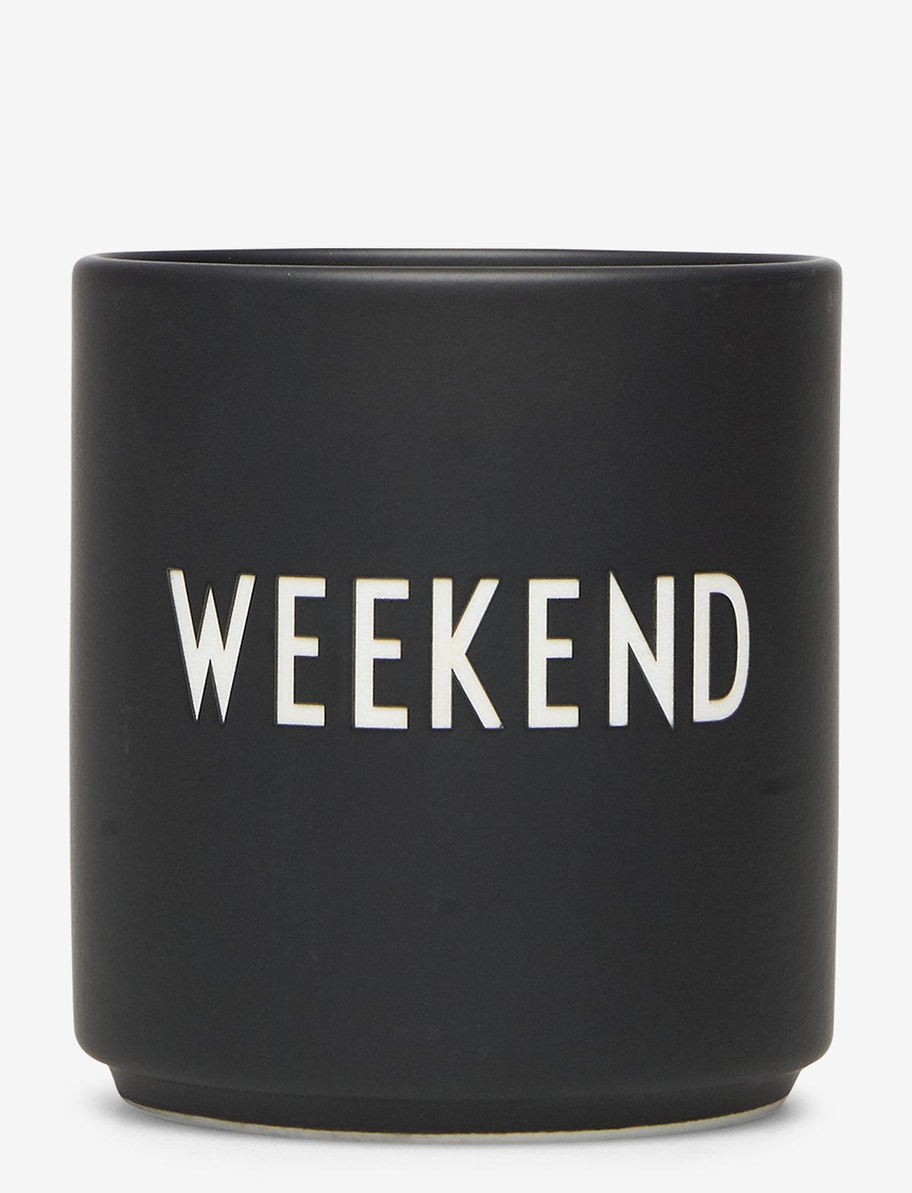 Design Letters - Favourite cups - tasses à café - weekend - 0