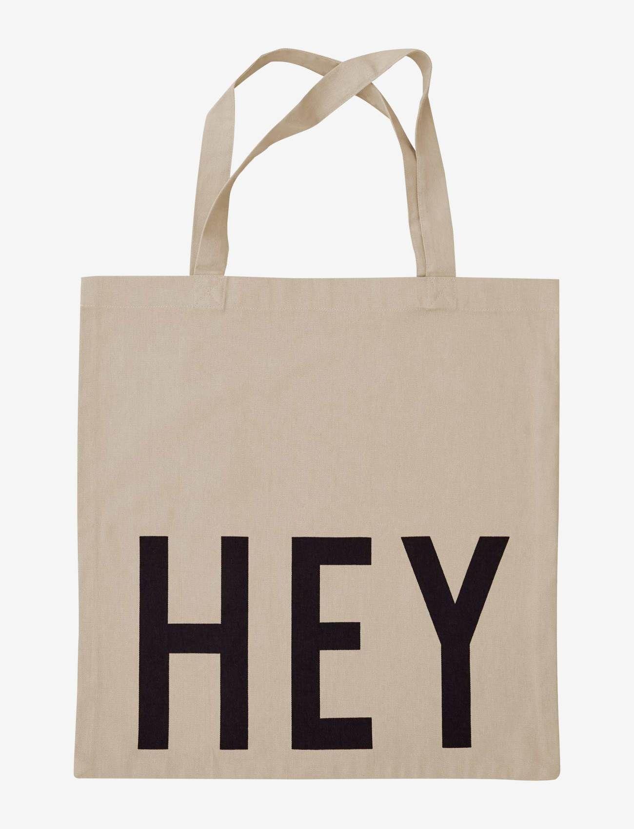Design Letters - Favourite tote bag - cabas - beige - 0