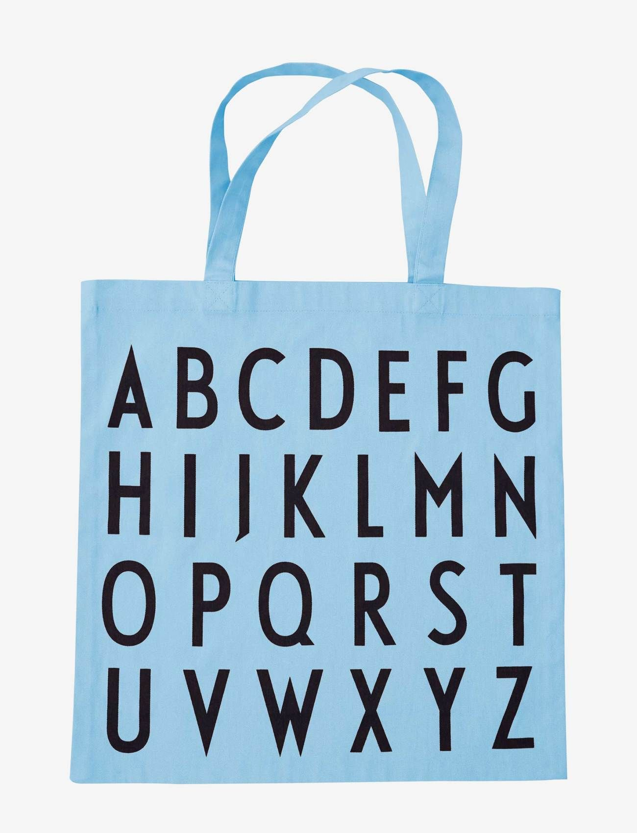 Design Letters - Favourite tote bag - cabas - light blue - 0