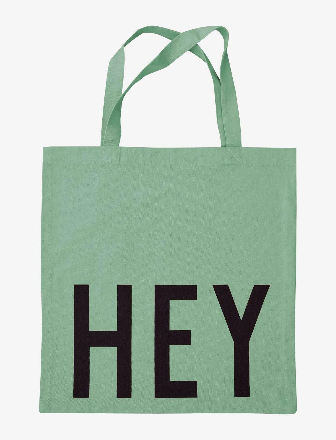 Design Letters - Favourite tote bag - cabas - light green - 0