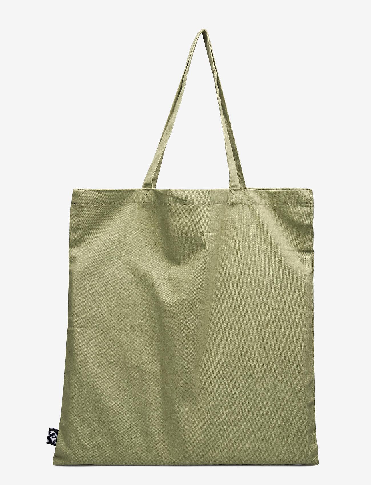 Design Letters - Favourite tote bag - cabas - light green - 1