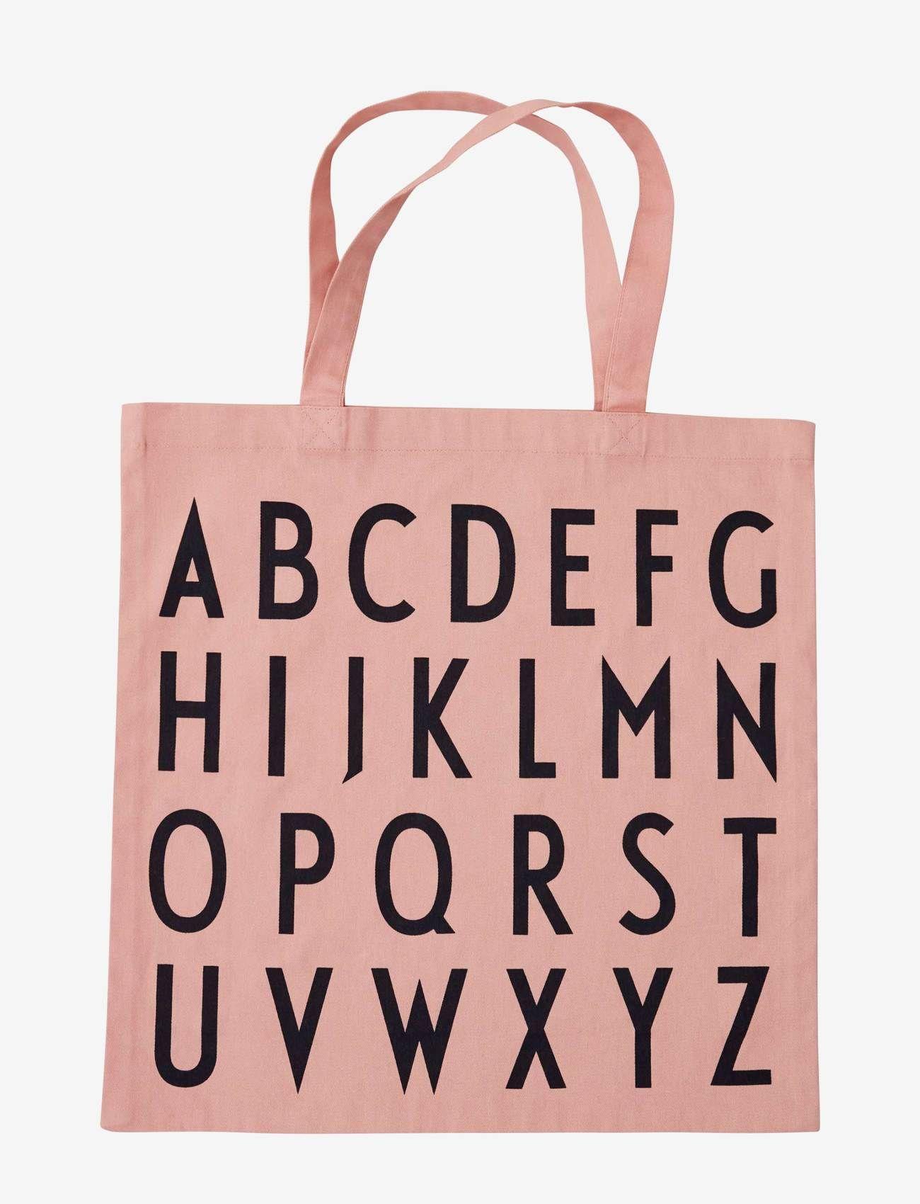 Design Letters - Favourite tote bag - cabas - pink - 0