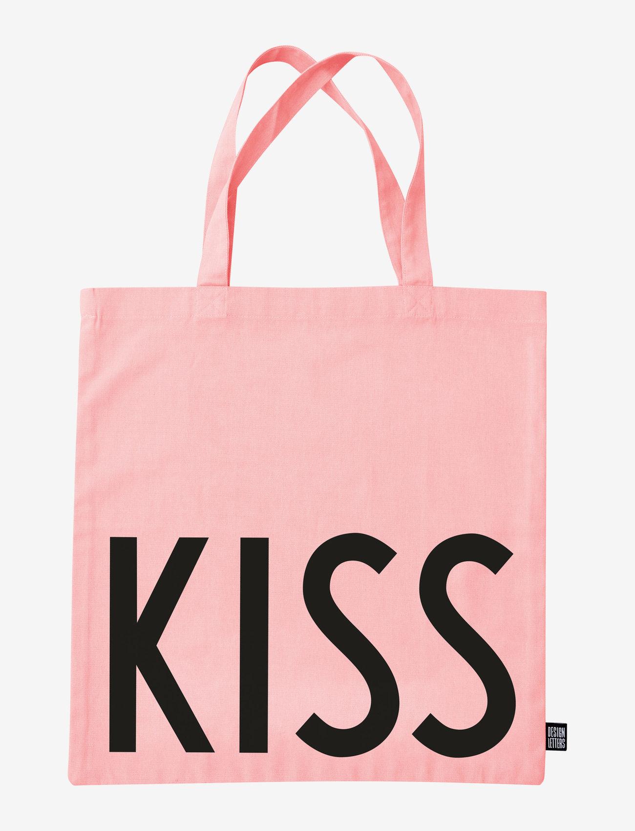Design Letters - Favourite tote bag - cabas - pink - 1