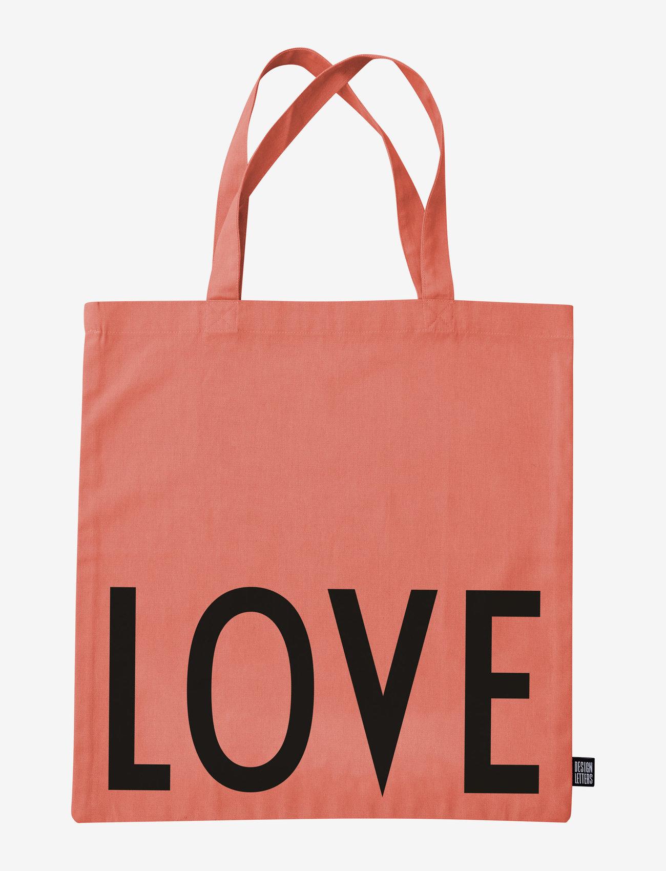Design Letters - Favourite tote bag - cabas - rose - 1