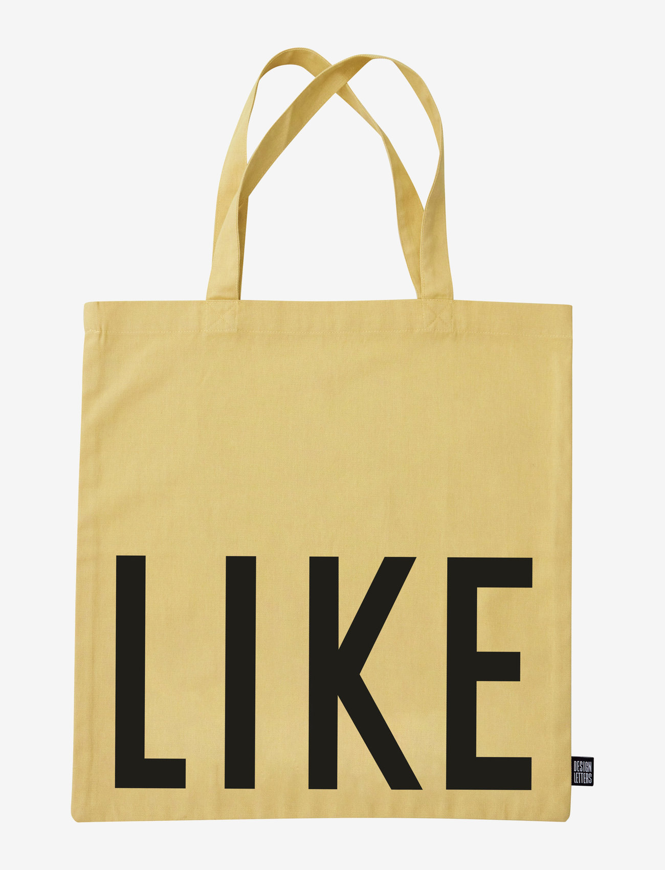 Design Letters - Favourite tote bag - cabas - yellow - 1