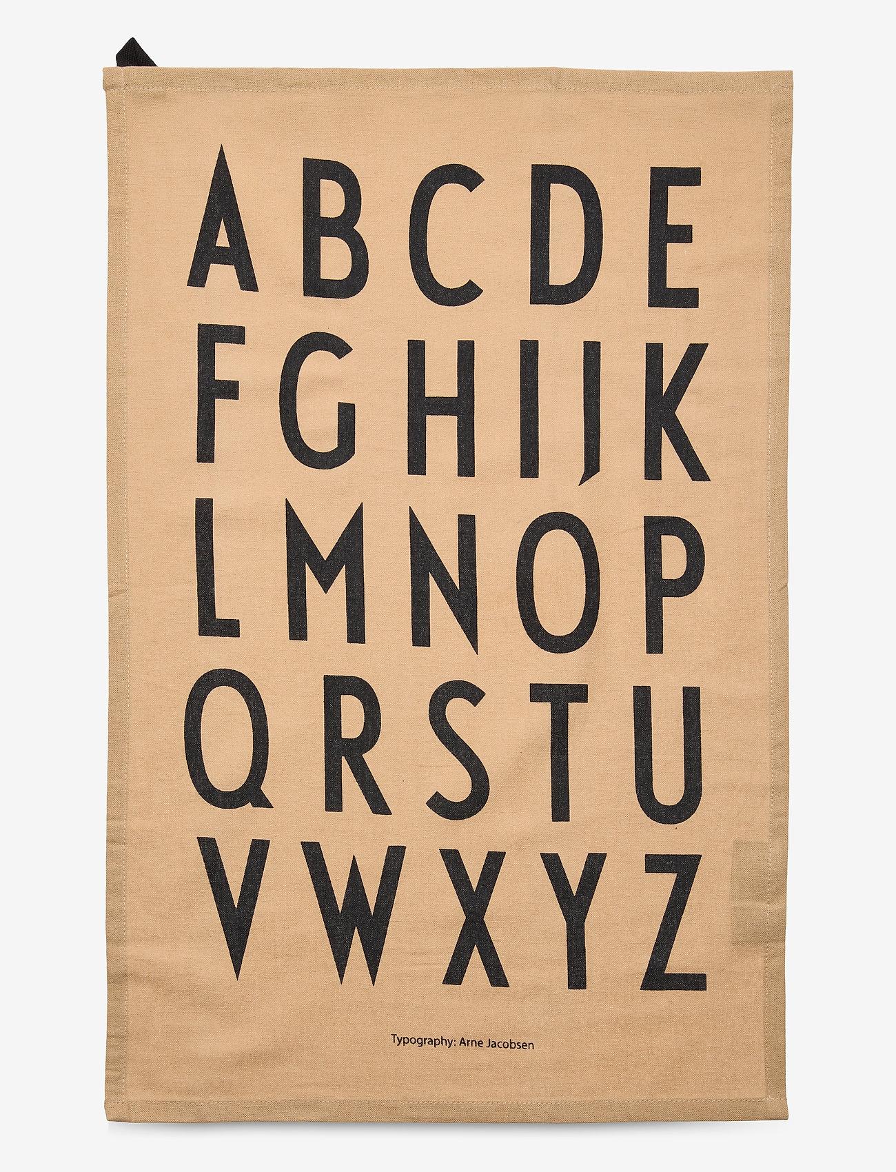 Design Letters - Classic Tea Towel 2-pack - torchons - beige - 1